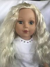 "MADAME ALEXANDER 18"" BLONDE HAIR BLUE EYES DOLL WITH OUTFIT"