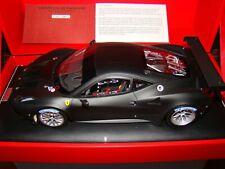 FERRARI 458 GT2  MR COLLECTION  NOIR MATT  1/18 EME   LIMITED EDITION VERY RARE