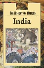 History of Nations - India (hardcover edition) (History of Nations)-ExLibrary