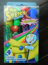Mr. Sketch Scented Washable Markers - 4 Pack