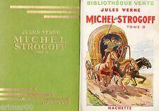 Michel STROGOFF - Tome II // Jules VERNE // Bibliothèque Verte