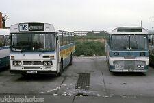Trimdon Motor Services C75UHN Trimdon Grange Depot 1986 Bus Photo