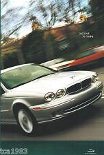 Big 2002 Jaguar X-Type Catálogo/ CATALOG: 2.5 , 3.0 Litro / Litro