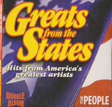 GREATS FROM THE STATES VOL 1 PROMO CD STARSHIP DONNA SUMMER SAM & DAVE SUPREMES