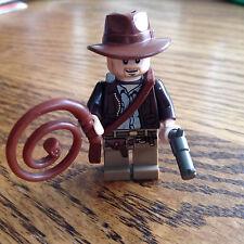 LEGO Indiana Jones Minifigure pistol gun whip satchel 7683 7623 7628 7622 Rare