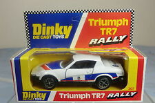 "DINKY TOYS MODEL No.207 TRIUMPH TR7 ""RALLY"" SPORTS CAR (ex-SHOP STOCK)  MIB"