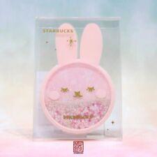 New Starbucks 2019 Mid Autumn Day Cute Bear Pink  Coaster