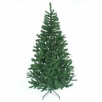 Artificial Christmas Tree Metal Stand Bushy Xmas Tree Traditional Decoration 8ft