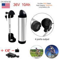 E-Bike Lithium Li-ion Battery X-go 36V 10AH Silver Bottle for Electric Bicycle