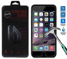 Genuine Tempered Glass Screen Protector for Apple iPhone 6S Plus + 6 Plus 5.5""