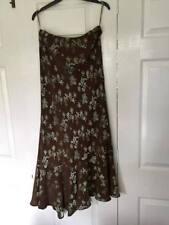 Monsoon Silk Calf Length Formal Skirts for Women