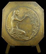 Médaille c 1939 jeu de balle au gant FRBSA sport belge Belgique Medal