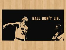 "Rasheed Wallace Knicks Basketball Quote Vinyl Wall Sticker Decal 22""h x 43""w"