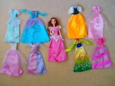 Disney Princess Barbie Doll + 8 Extra dresses