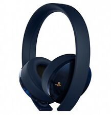 SONY PlayStation Gold Wireless 7.1 Headset 500 Million Limited Edition PS4