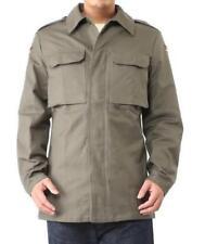 Cappotti e giacche da uomo militanti verdi bottone