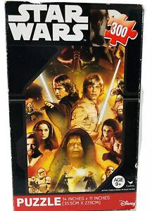 Star Wars Jigsaw Puzzle Luke Skywalker 300 Pieces Disney New 11 x 14