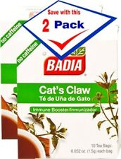Badia Cats Claw Tea Bags 10 Bag Pack of 2