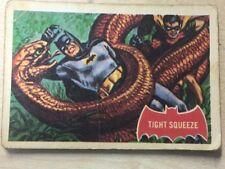 BATMAN Red Bat Cards A + B C Gum 1966 No 24A