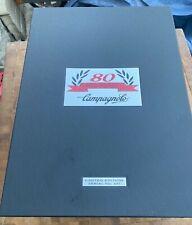 Campagnolo Ltd Ed 80th Anniversary Super Record Groupset #691 New!!!!