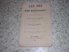 1877.les 363 sont-ils des radicaux / Jean-Pierre Giraud.plaquette républicaine