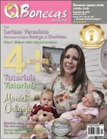 QBonecas Magazine No.7 RebornTutorial Reborn Baby Doll Magazine LifeLike Dolls
