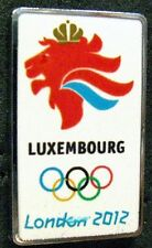 LONDON 2012 Olympic LUXEMBOURG NOC Internal team - delegation dated pin
