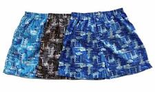 "Mens Thai Silk Boxer shorts / Underwear / 28""- 31"" / 3 Sets / Paisley"
