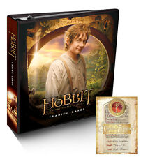 Hobbit: Unexpected Journey ~ OFFICIAL COLLECTOR'S BINDER/ALBUM ~ Cryptozoic