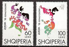 Albania - 1998 Europa Cept - Mi. 2648-49 MNH