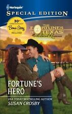 Fortune's Hero (Harlequin Special Edition), Susan Crosby,0373656637, Book, Good