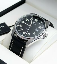 GLYCINE Combat 6 3890.19AT.LB9B SWISS AUTOMATIC BLACK WATCH Excellent condition!