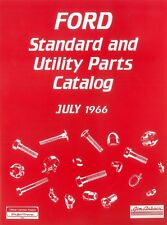 1966 Ford Truck Standard & Utility Parts Number List Guide Interchange Reference