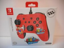 PowerA Super Mario Odyssey Wired Nintendo Switch Pro Controller Red/Black *NEW*