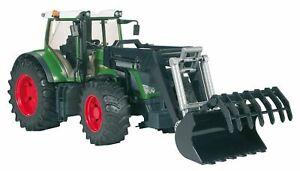 Bruder 03041 Fendt 936 Vario mit Frontlader Profi Serie Spielzeugautos Traktoren