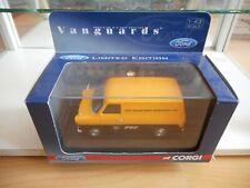 "Corgi Vanguards Ford Transit MKI ""Gec Elliott"" in Yellow/Black on 1:43 in Box"