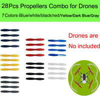 28pcs Propeller Props Quick Release Accessories For Parrot Drone Mambo Swing FPV