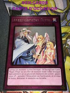 OCCASION Carte Yu Gi Oh AVERTISSEMENT DIVIN NKRT-FR035