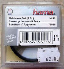 💟 Nahlinsen SET / 3 Stück 55 mm HAMA 💟
