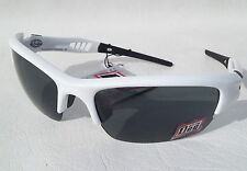 11e263b4125 Dirty Dog Sports Sunglasses Viz Shiny White-black  Green Lens Cycling Golf  58010