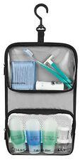 Travelon 1 Qt  Tolietry Bag Plus Plastic Bottles 11024 - Black