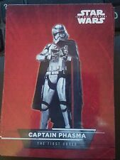 2015 Topps Star Wars The Force Awakens Sticker #5 Captain Phasma The First Order
