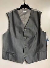 NEW Calvin Klein Boys Vest Size XL(18/20) REG LT GREY NWT