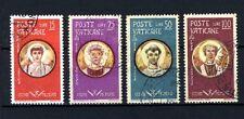 VATICANO 1959 - 4 francobolli Martiri delle persecuzioni di Valeriano - USATI