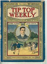 1908/ Issue Tip Top Weekly 5 Cent Novel Yale Theme Cover Frank Merriwell