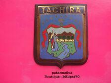 Plaque de Calandre de Voiture . TACHIRA ( Vénézuela )