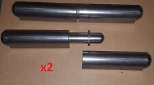 2 Pc 8 Steel Weld Onbullet Hinge Brass Bushingwasher Doormachinemetal 1206