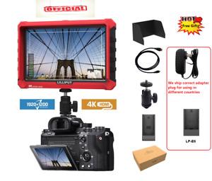 """Lilliput 7"""" IPS A7S 4K Camera FHD HDMI 1920x1200 170° DJI Ronin adapter LP-E6 pl"""