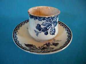 Petit pot a crême en céramique de Gien XIX iéme Ref 292594542263 *