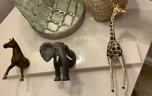 IKEA Hemnes Coat Hooks Up cycled Animals Safari theme
